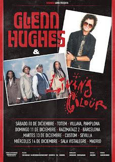 Gleen Hughes & Living Colour Spanish Tour