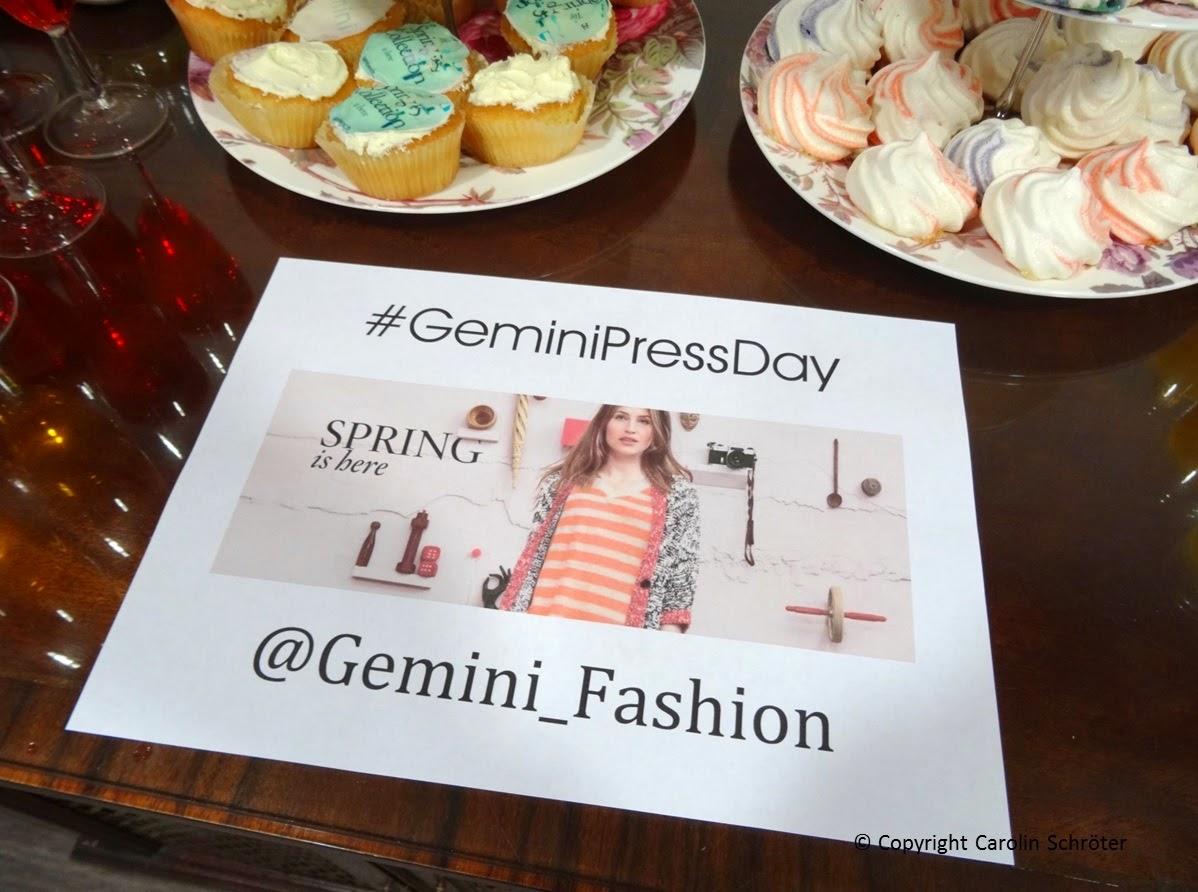 Gemini Fashion Press Day