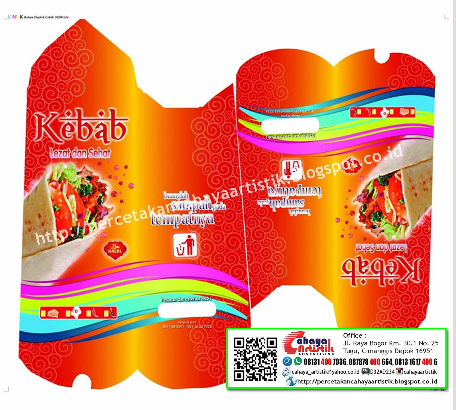 250ml cosmetic tubes free mockup to showcase your packaging design in a photorealistic style. 50 Desain Kemasan Kebab Yang Populer
