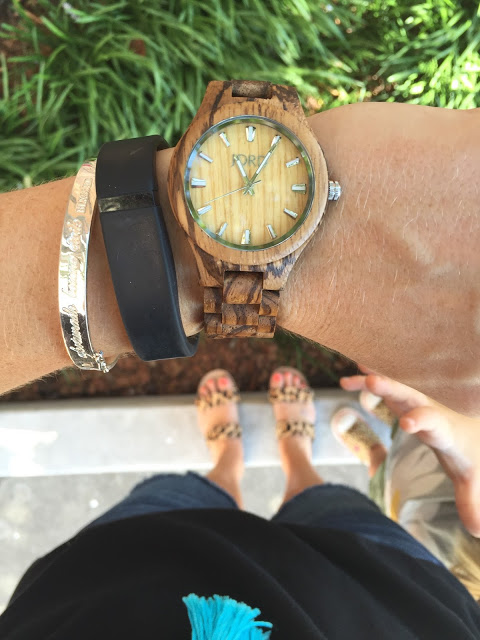 Jord wooden watch: fieldcrest zebrawood and maple