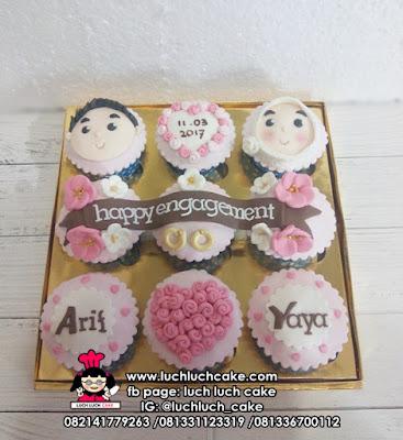 Cupcake Engagament Untuk Hantaran