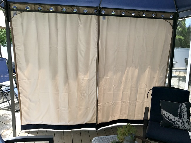 Sun solution for gazebo