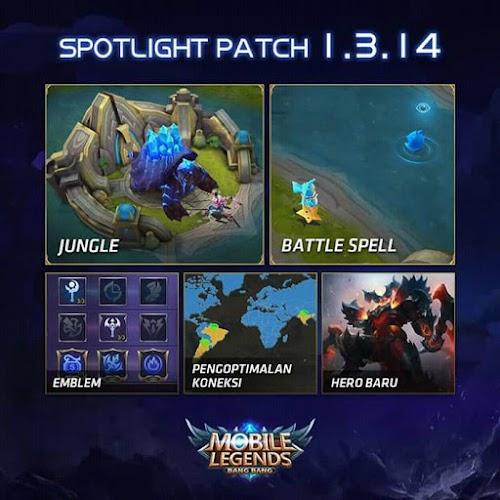 Apa Yang Baru Di Mobile Legends Update Patch 1.3.14