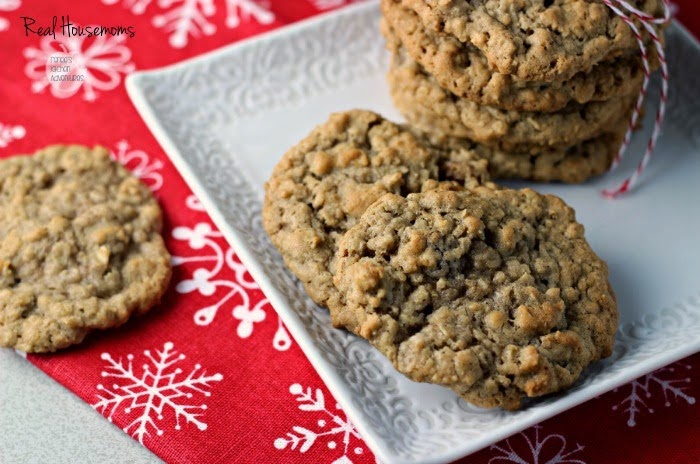 Spiced Oatmeal Raisin Cookies | by Renee's Kitchen Adventures