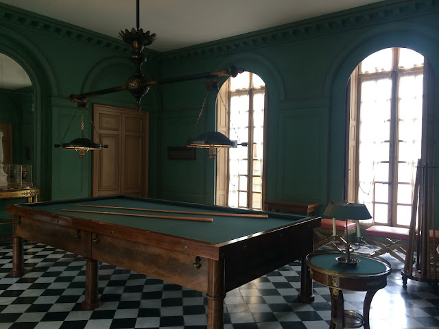The Billiard Room, Château de Malmaison, France