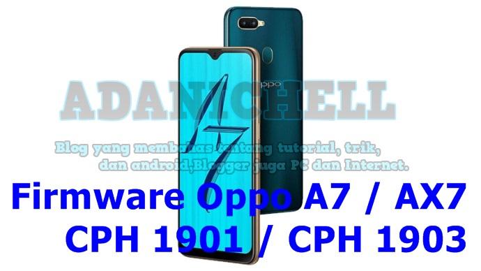 Oppo Cph1901 Latest Firmware