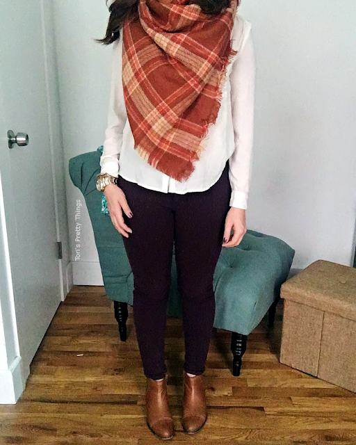 Tori's Pretty Things // Fall Outfit, Perfect Fall Look