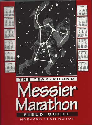 Resident Astronomer considers doing a marathon with Harvard Pennington Field Guide