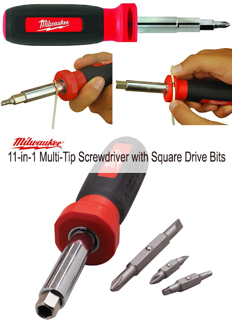 a multi tool screwdriver with lots of good qualities