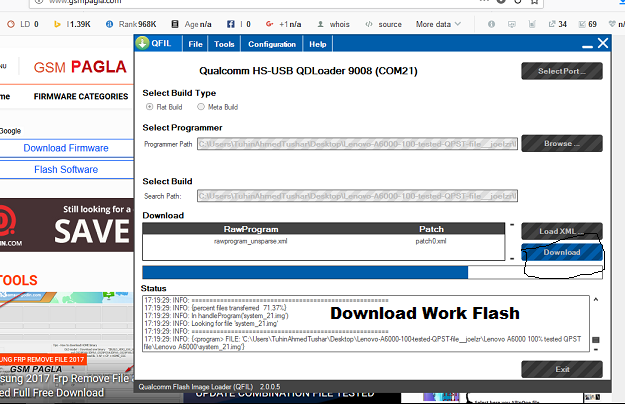 ALL TESTED FIRMWARE: Lenovo A6000 Firmware / Flash Done With