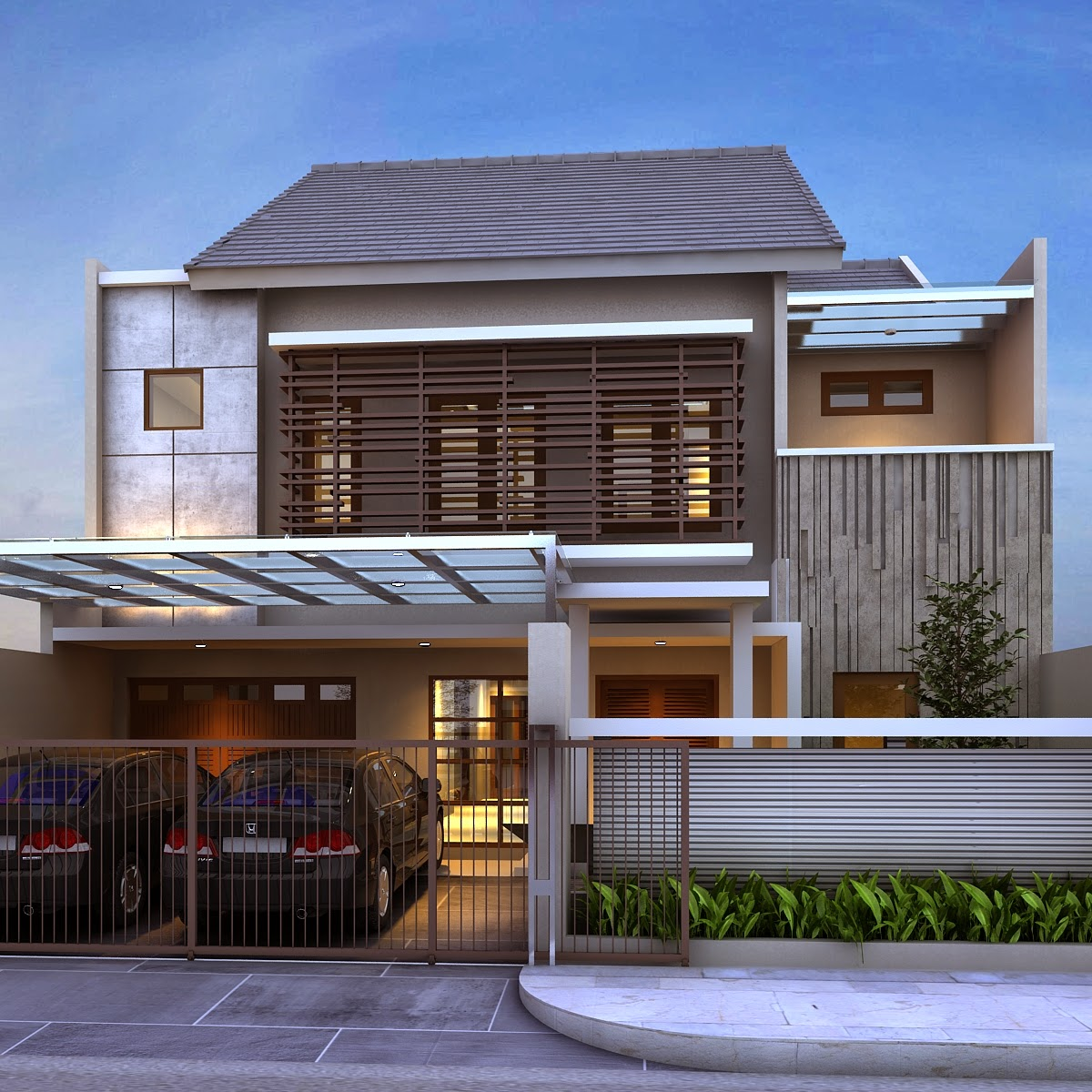 64 Desain Rumah Minimalis Dengan Mezzanine  Desain Rumah
