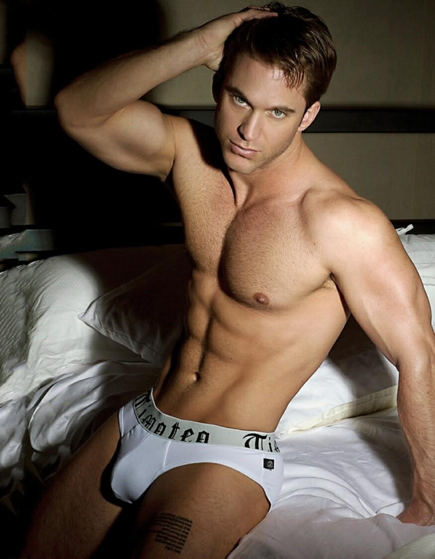 Nude men model