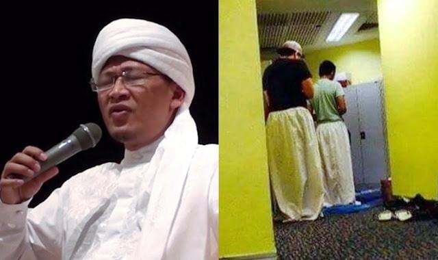 Foto Pria Pakai Mukena Saat Shalat Ini Membuat Aa Gym Angkat Bicara