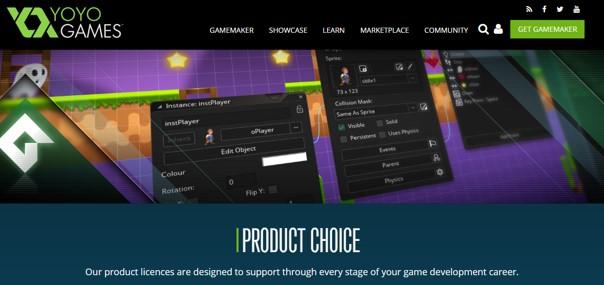Aplikasi Membuat Game Android - GameMaker Studio 2