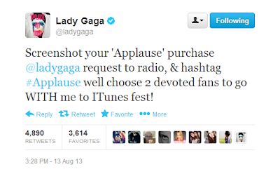 Lady Gaga: You Lost me on this one.