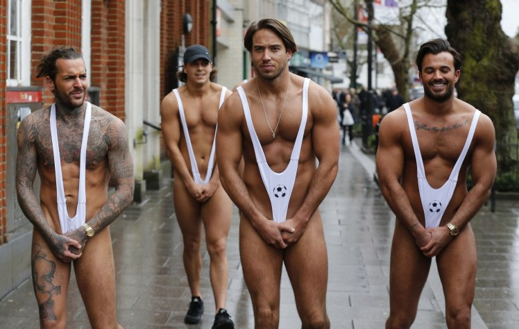 Towie Boys Strip Naked But Are Left Exposed After Flashing A Bit Too Much Flesh
