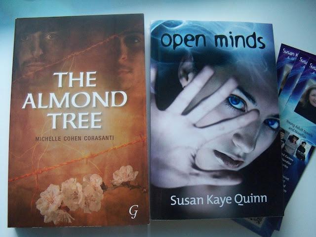 The Almond Tree de Michelle Cohen Corasanti + Opne Minds de Susan Kaye Quinn