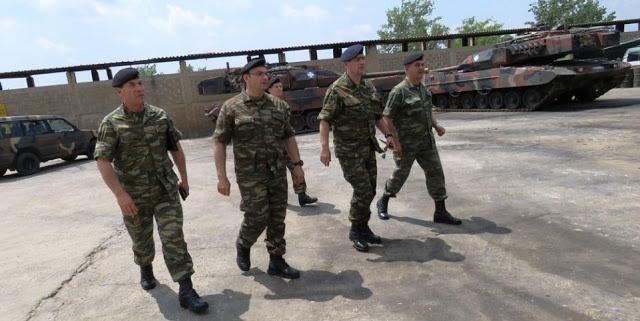 O Υπαρχηγός ΓΕΣ σε Σχηματισμούς στην Περιοχή Ευθύνη του Δ΄ Σώματος Στρατού (Δ΄ ΣΣ «ΘΡΑΚΗ»)