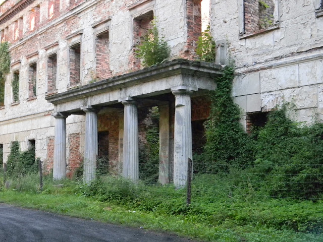 Jak wyglądało wejście do pałacu w Zatoniu?
