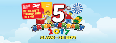 LEGOLAND® MALAYSIA RESORT CELEBRATES FIVE YEARS OF AWESOME FAMILY TIME