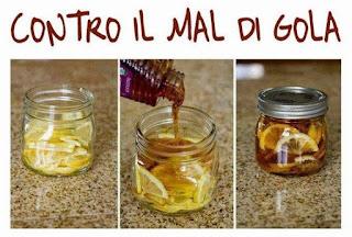 قطع الزنجبيل والليمون الحامض والعسل