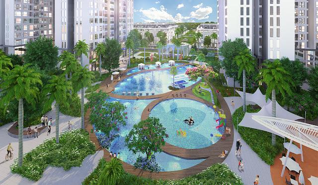 Không gian sống xanh tại FLC Hà Khánh