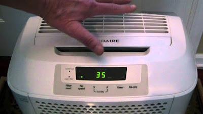 dehumidifier settings