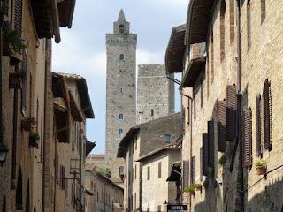 San Gimignano, Via de San Giovanni.