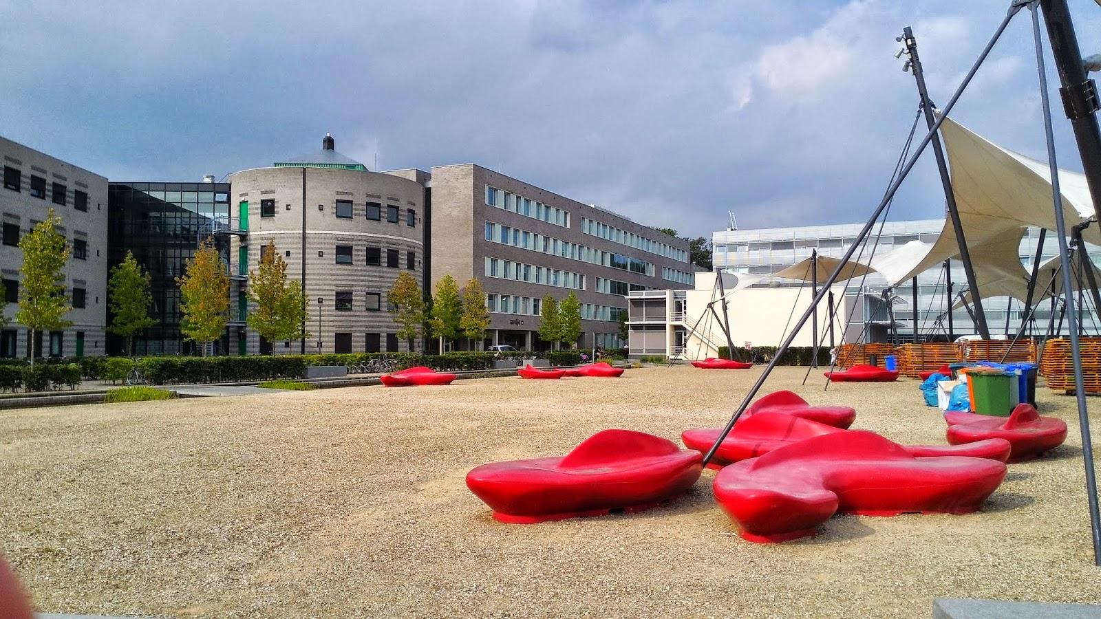 University of Twente 風景