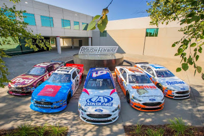 Roush Fenway Goes All-In Darlington Throwback Weekend #NASCAR