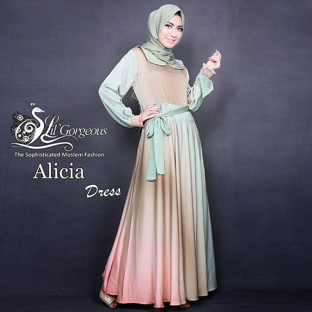 Model Baju Gamis Pesta Modern dan Elegan a5d5248705