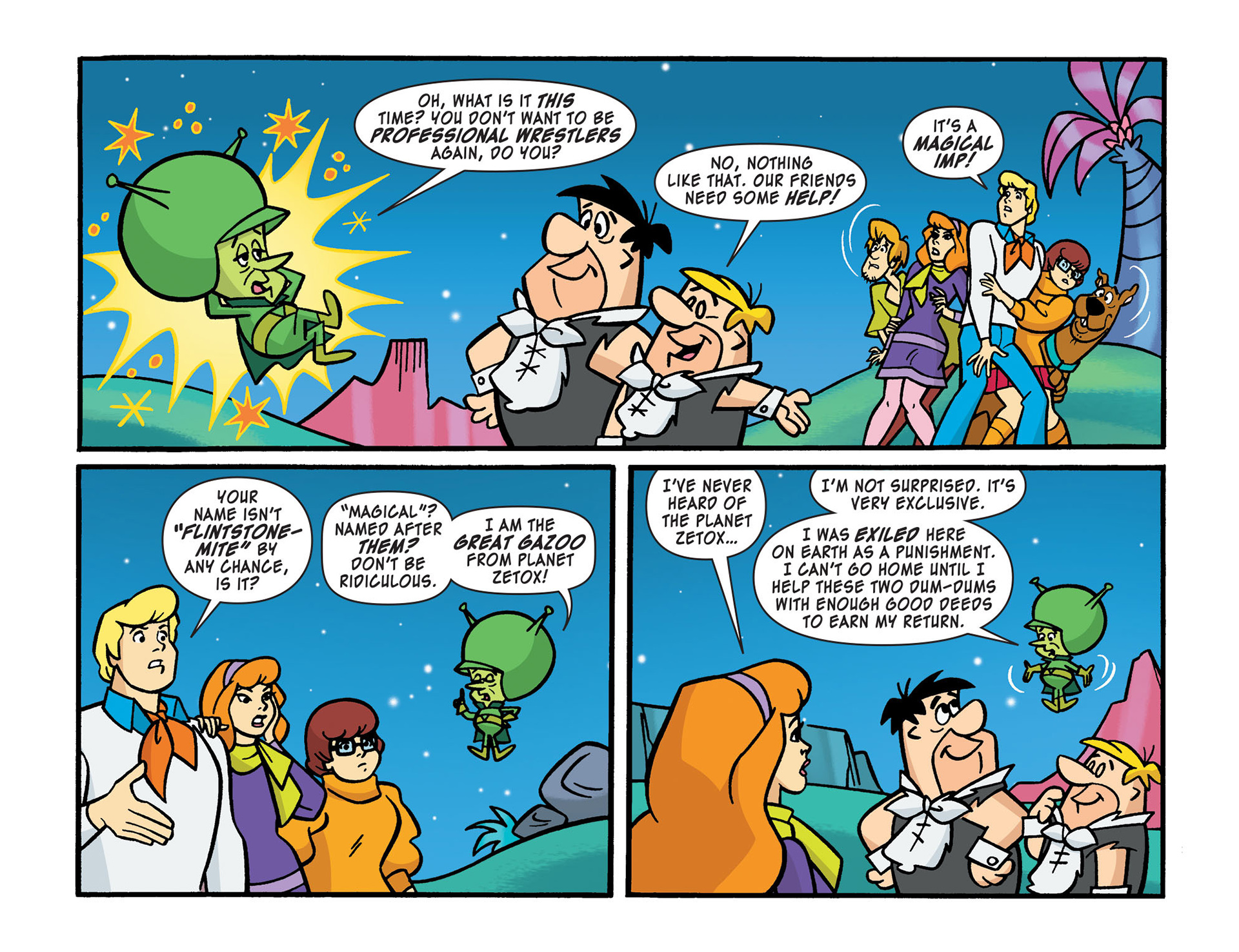 Read online Scooby-Doo! Team-Up comic -  Issue #14 - 17