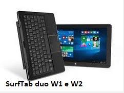 SurfTab duo W1 e W2