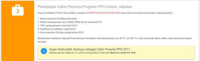 Jadwal Pretest PPG Dalam Jabatan 2018 Dan Post Test Peserta PKB 2017