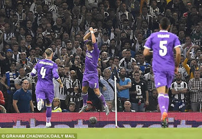 6 - Real Madrid wins the UEFA Champions League 2017