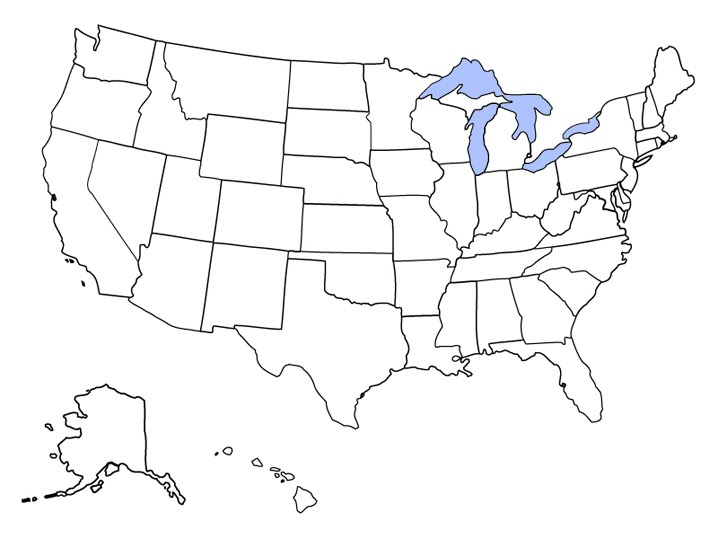 (2) for mass storage devices, a label is the name of a storage volume. Blank Map Of The United States