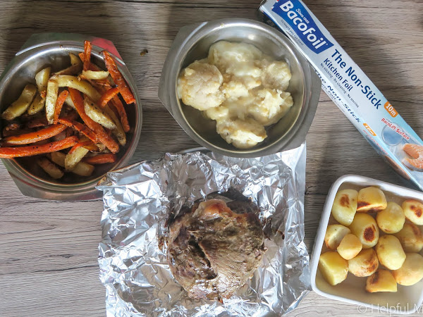 Simplifying the Easter Roast with Bacofoil® #ad