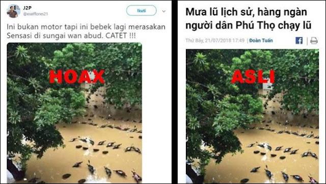 Situs Hoax & Ahoker Fitnah Anies soal Banjir, Faktanya Kejadian di Vietnam