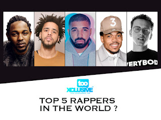 Top 5 Rappers in The World - Where is Jay Z.