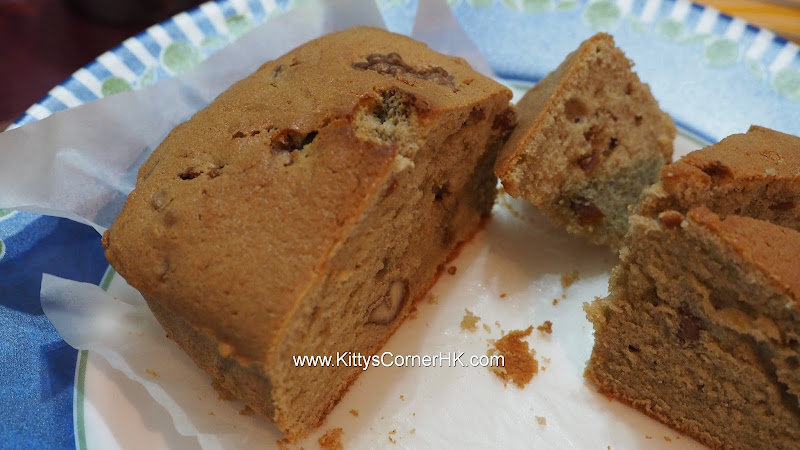 Butter Cake with Dark Malt and Peels 鮮油黑麥芽皮香蛋糕 自家烘焙 食譜 home baking recipes
