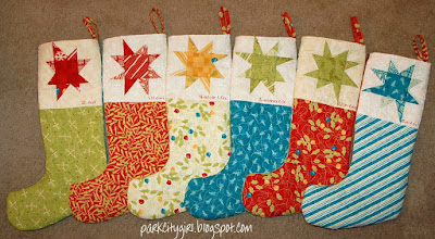 Quilt Inspiration: Free pattern day! Christmas stockings : pattern for quilted christmas stocking - Adamdwight.com
