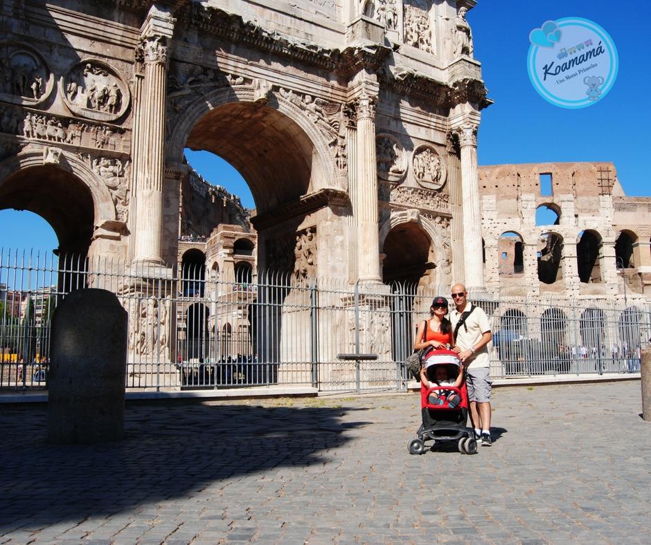 coliseo romano niños