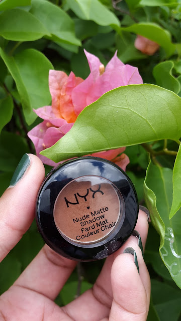 NYX Nude Matte Shadow 'Dance The Tides' www.modenmakeup.com