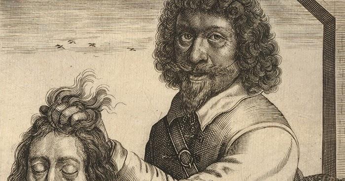 King Charles I executed for treason
