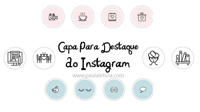 destaques do instagram