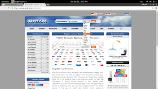 free domain providers