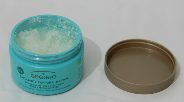 Exfoliante corporal mineral SeeSee