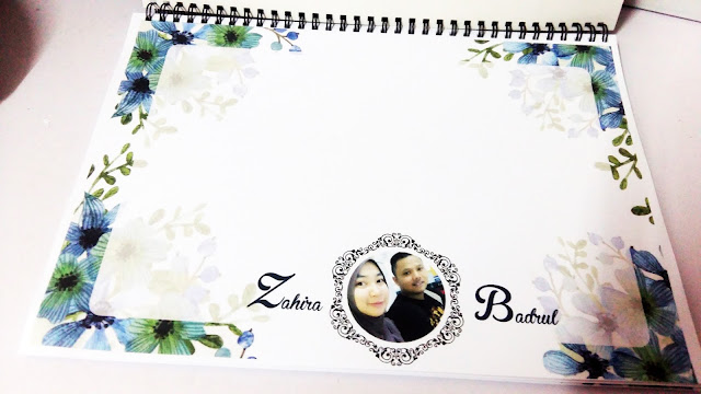 tempah wedding guest book
