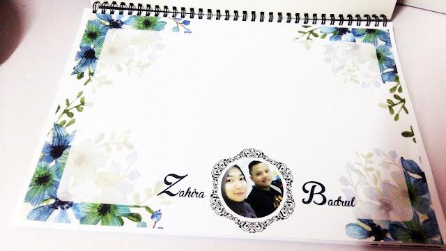 tempah wedding guest book