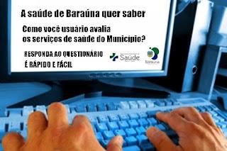 Baraúna lança Consulta sobre os Serviços de Saúde no Município